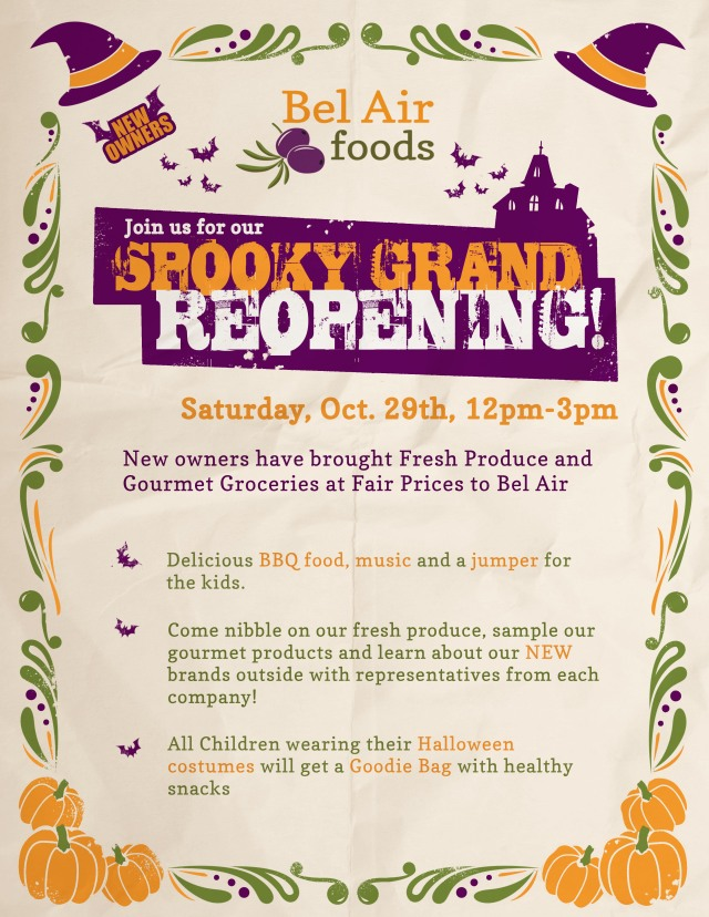 Spooky Grand Reopening Festival