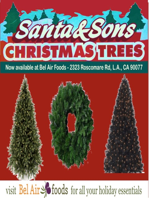 Premium SERF-Certified Christmas Trees and Wreaths at Your Neighborhood Market!